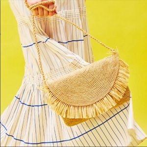 MAR Y SOL NWT straw clutch purse